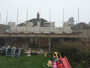 2 story rear extension